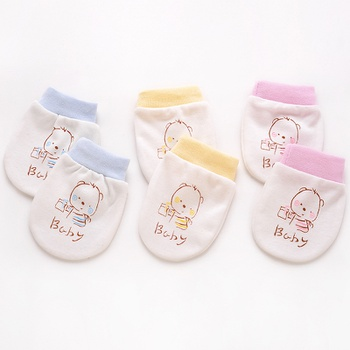 3-pair Baby Anti-scratch Gloves