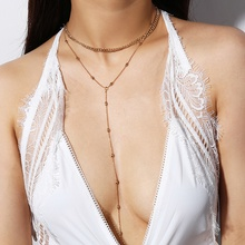 Bohemian Necklaces For Women Vintage Choker Cross Layered Necklace