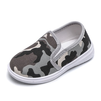Toddler / Kids Camouflage Casual Canvas Shoes