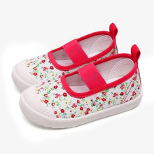 Toddler / Kids Casual Floral Canvas Shoes
