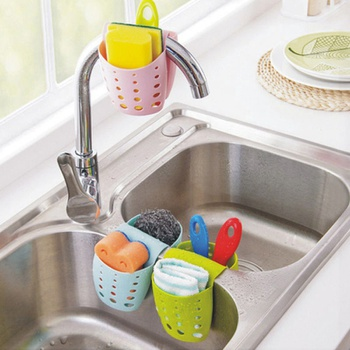 Newest Sink Shelf Kitchen Organizer Holder Hanging Double-Sides Portable Kitchen Accessories Wash