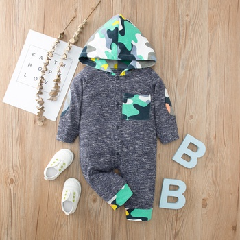 Baby Boy casual Camouflage Jumpsuits