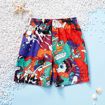 Baby / Toddler Casual Summer Cartoon Print Shorts
