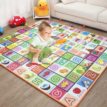 Alphabet Fruit Print Baby Play Crawling Mat