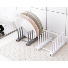 Concise Plate Storage Drain Rack