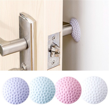 4 Pcs Silicone Knock-prevent Sticky Cushion