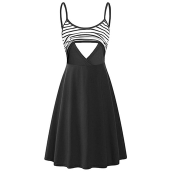Casual Nursing Slip Dress