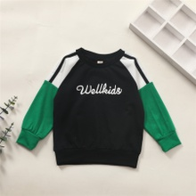 Baby Boy casual Letter Pullovers Cotton Fashion Long Sleeve Infant Clothing Outfits