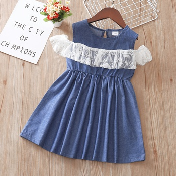Toddler Girl Casual Lace Cotton Dress