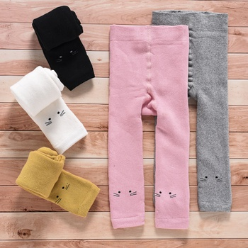 Baby / Toddler Cat Solid Leggings