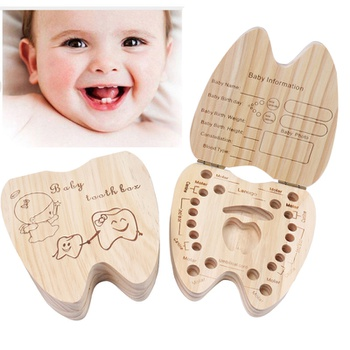 Baby Tooth Box Souvenir Case