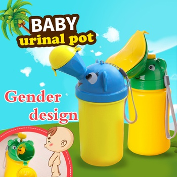 Portable Convenient Travel Cute Baby Urinal Kids Potty Girl Boy Car Toilet Potties Vehicular Urinal Traveling urination