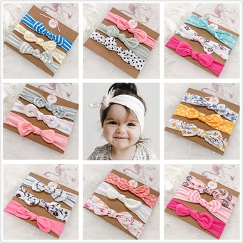 3-pack Pretty Bowknot Hairbands for Baby Girls