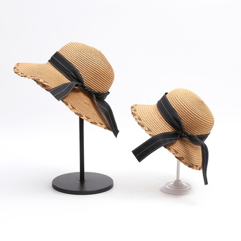 Foldable Sun Straw Hats for Mommy and Me