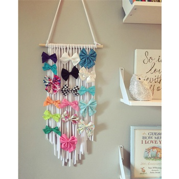 Hair Accessories Wall Hanging for Children's Bedroom
