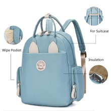 Multifunctional Mommy Diaper Bag Large Capacity Durable Travel Backpack for Baby Care Versatile for Suitcase