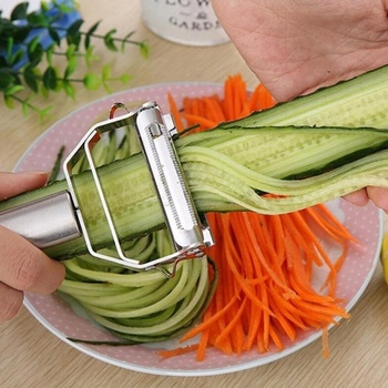 High Quality Stainless Steel Multifunctional Potato Cucumber Carrot Fruit Peeler Vegetable Slicer