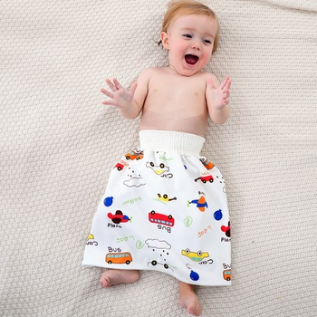 Cartoon Baby Washable Cloth Diaper Waterproof Breathable Eco-friendly Diaper