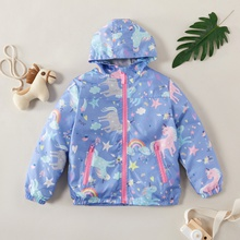 Fashionable Unicorn Allover Coat