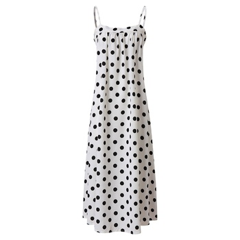 Beautiful Suspender Polka dots Dress