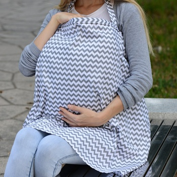 Breathable Buckle Design Maternity Nursing Cover