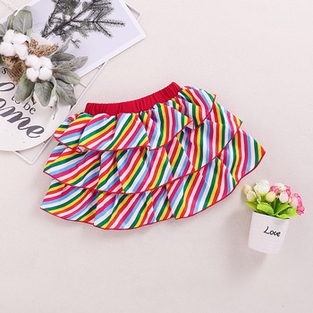 Baby Girl Rainbow Sweet Skirts