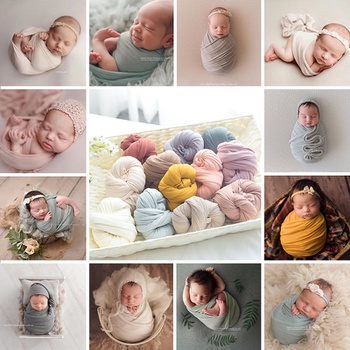 Good Elasticity Baby Photography Prop Wrap