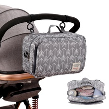 Baby Stroller Bag Large Capacity Diaper Bags Outdoor Hanging Carriage Mommy Bag