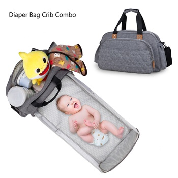Multifunction Diaper Bag Baby Bionic Bed Portable Folding Travel Newborns Net Crib Fashion Kids Cot