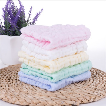 5-pcs Six-layer Soft and Breathable Baby Children Absorbent Cotton Towels Kids Face Hand Washing Towel