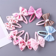 8-pack Pretty Bowknot Hairpins for Girls