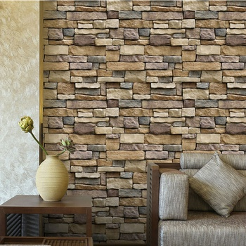 Countryside Brick Wall Decor