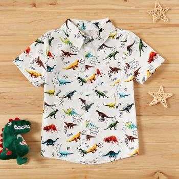 Dinosaur Printed Daily Shirt