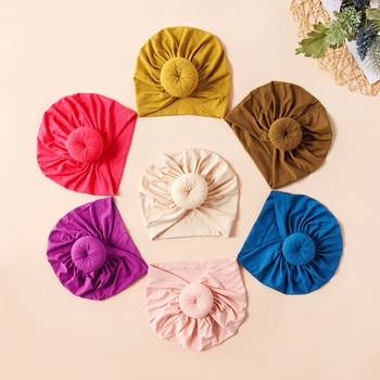 Baby / Toddler Sweet Solid Knot Newborn Hat