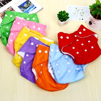 Breathable Adjustable Reusable Cloth Diaper