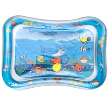Shark Print Baby Inflatable Water Cushion Play Water pad