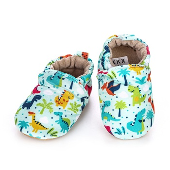 Baby / Toddler Cartoon Dinosaur Allover Slip-On Infant Shoes