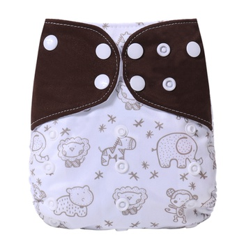 Cute Baby Washable Adjustable Cloth Diaper