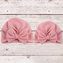 Mommy and Me MultiColor Big Bow-knot Decor Hats