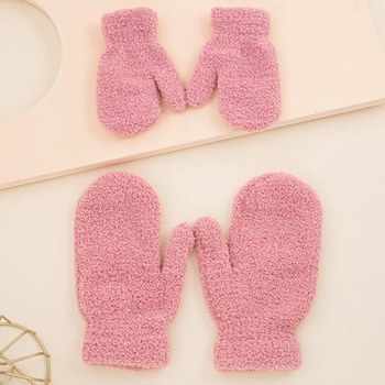 Multicolor  Warm Gloves for Mommy and Me