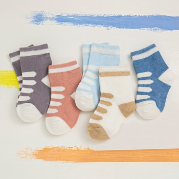 5-pack Baby / Toddler Color Knitted Socks