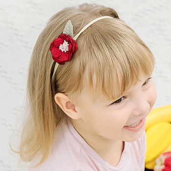 Pretty Flower Hairbands for Baby Girls
