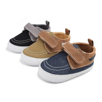 Baby / Toddler Boy Colorblock Velcro Prewalker Shoes