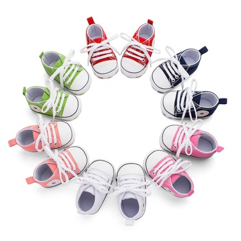 Baby / Toddler Solid Canvas Shoes First Walkers