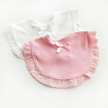 Baby Bibs Muslin Cotton Infant Saliva Bibs Cute Baby Gauze Bibs Infant