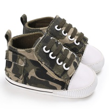Baby / Toddler Boy Trendy Camouflage Canvas Shoes
