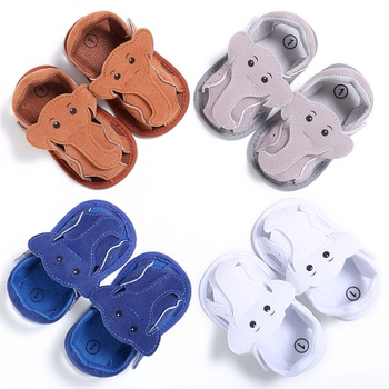 Baby / Toddler Boy Adorable Elephant Decor Solid Sandals