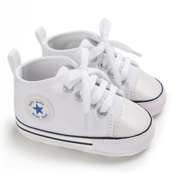 Baby / Toddler Casual Solid Stars Decor Canvas Shoes (Various colors)