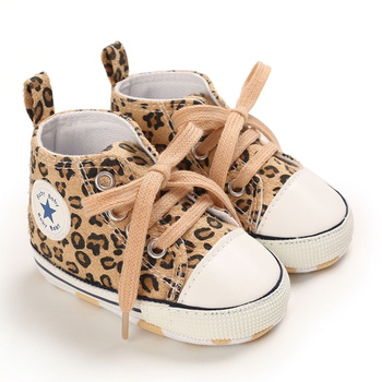 Baby / Toddler Leopard Canvas Prewalker Shoes