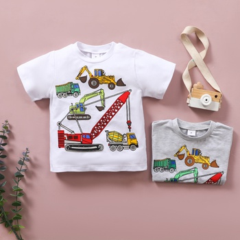 Baby / Toddler Boy Car Casual Tee